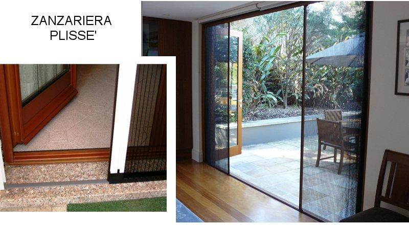 Zanzariera per porta finestra scorrevole - Chiusura per porta scorrevole ...