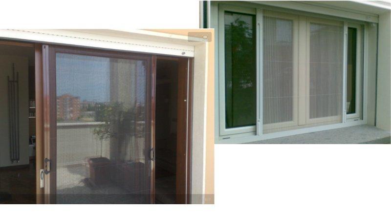 Zanzariere da porta finestra firenze - Tende per porta finestra ...